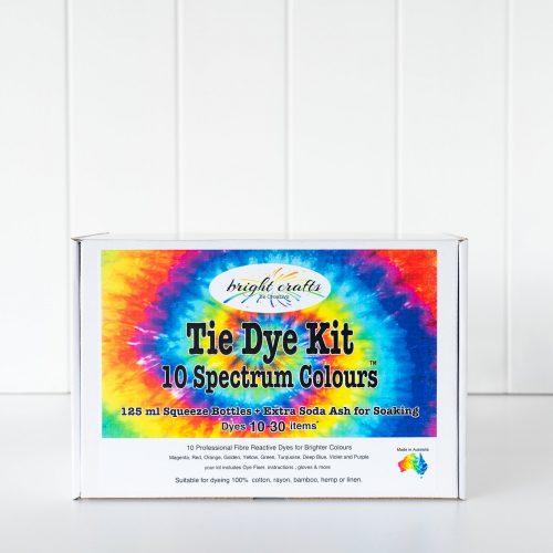 10 Colour Spectrum Tie- Dye Kit