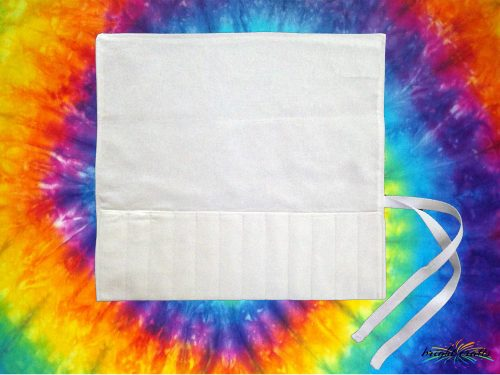 Bright Crafts white cotton pencil rolls ready to dye