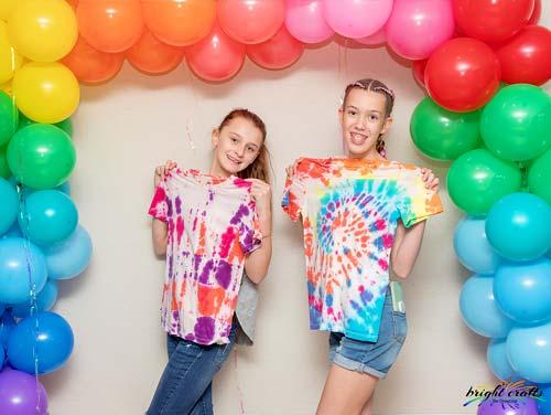 Tie Dye Birthday Party Kit