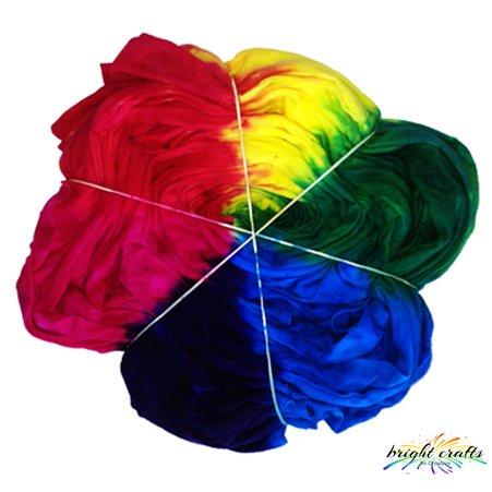 Tie Dye a Rainbow Spiral